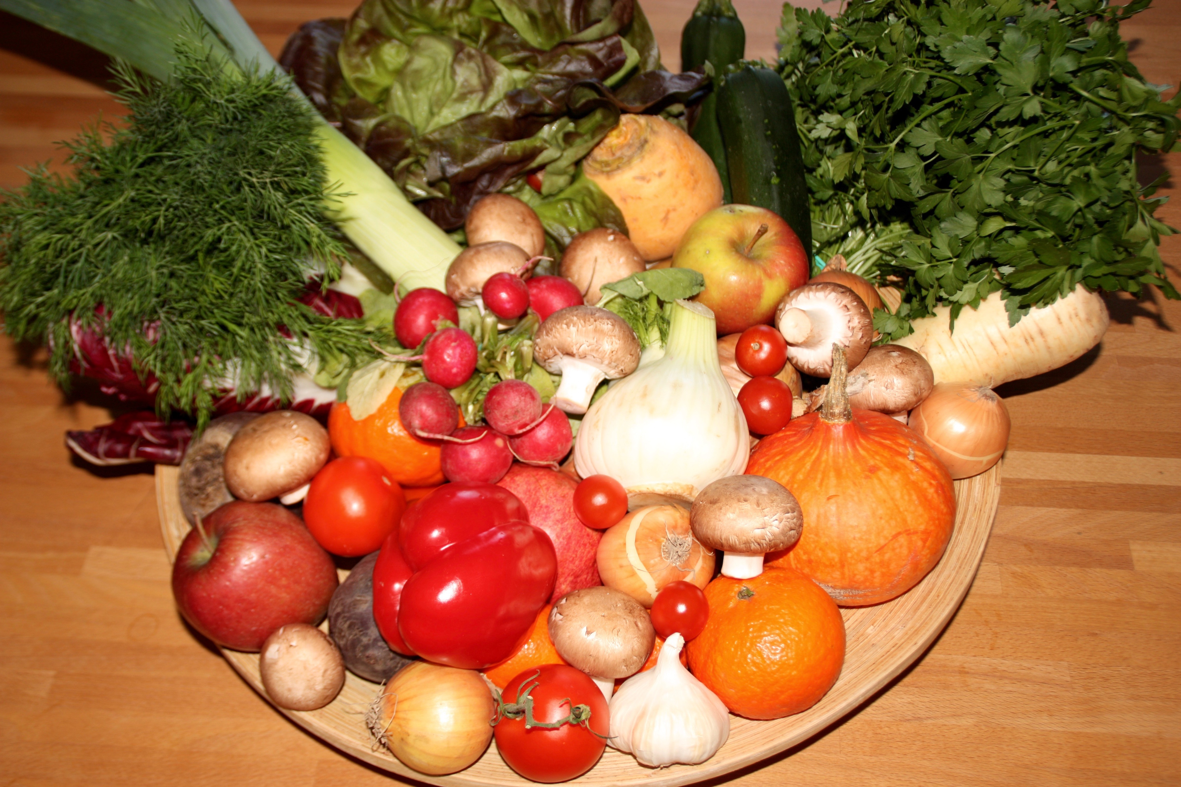 Vitamine in unseren Lebensmitteln
