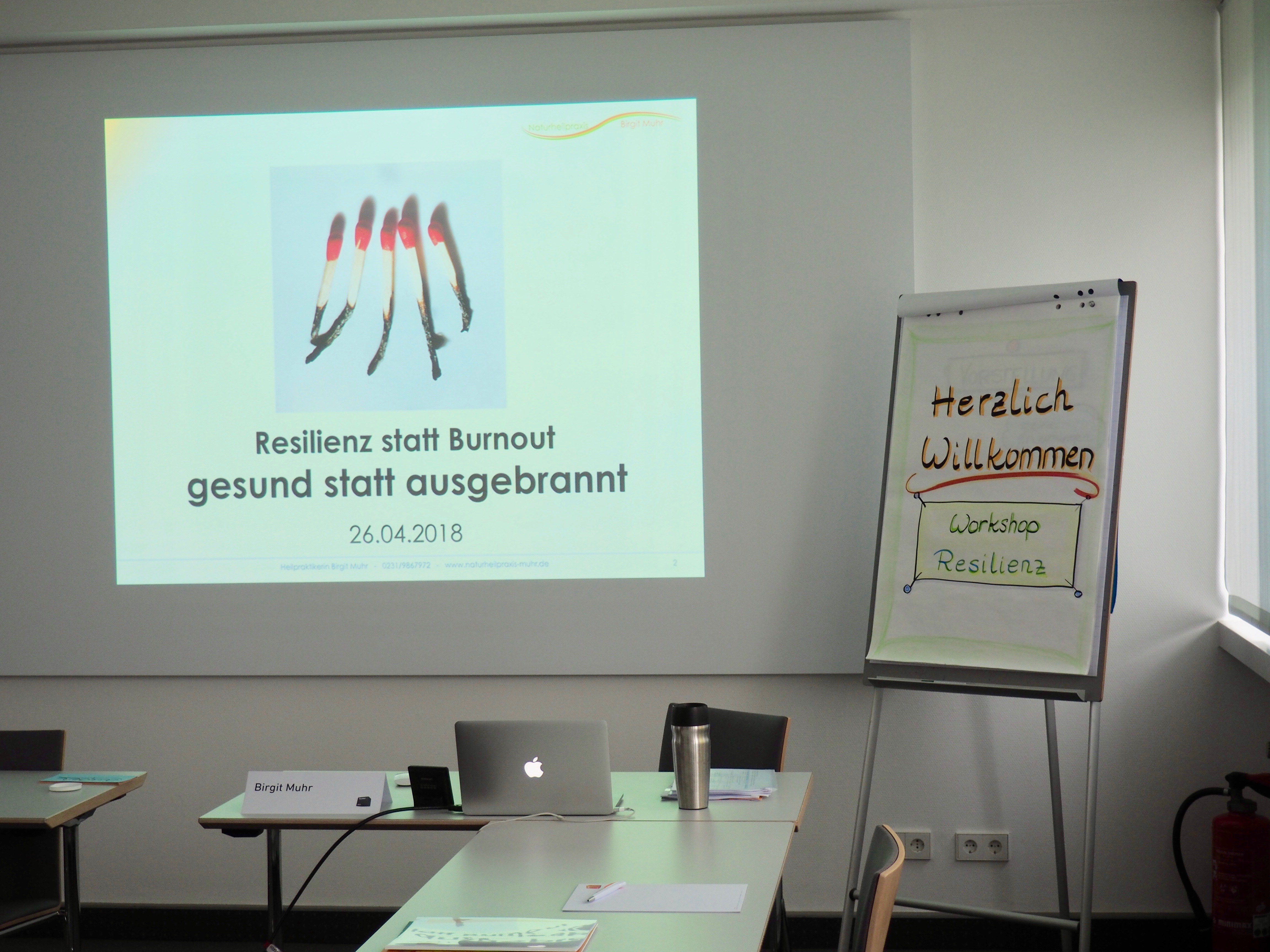 Workshop Burnoutprophylaxe und Resilienz