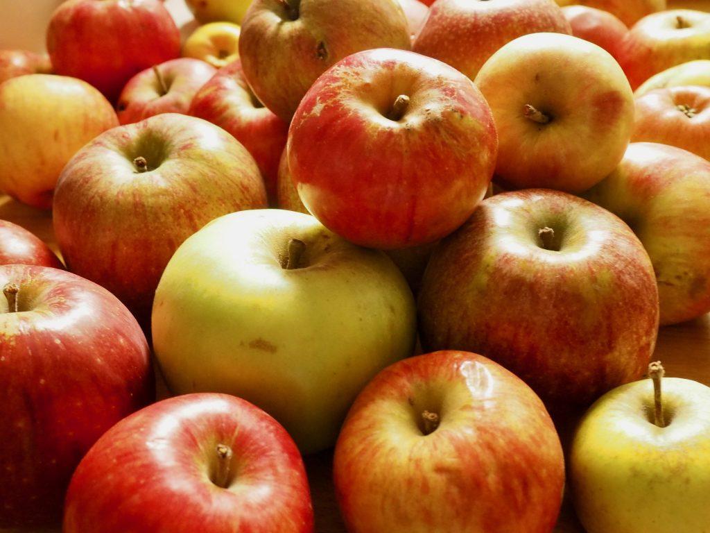 Äpfel von der Streuobstwiese